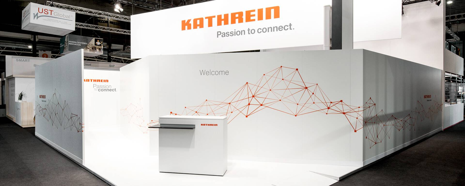 Kathrein auf dem Mobile World Congress 2018